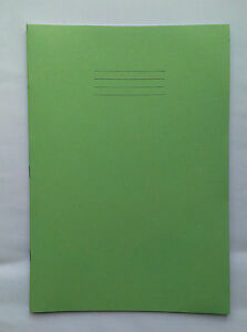 A4 Plain paper exercise book - (New book with 64 pages plain paper)