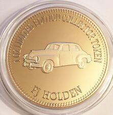 "NEW 2016 ""FJ HOLDEN"" M/Car Series 2 1 0z HGE 999 24k Gold Coin LTD 2,500"
