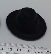 1/6 Hat BLACK Topper Fit For the Action figure Male body Toy Hobbie