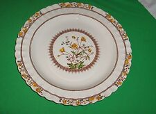 "Vintage Copeland Spode Buttercup Old Mark 13"" Round Serving Tray Chop Plate NICE"