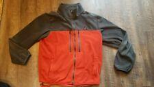 RARE Vintage Nike ACG Makalu Fleece Jacket large orange and gray polartec