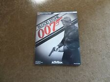 007 BLOOD STONE BRADY GAMES SERIES GUIDE BOOK