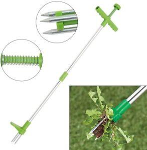 Long Handle Weed Remover Durable Garden Lawn Weeder Outdoor Yard Grass Puller