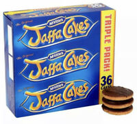 McVitie's Jaffa Cakes Triple Pack 36 per pack - Pack of 2 FREE SHIPPING