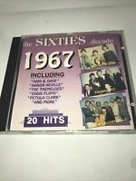 The Sixties Decade: 1967, 20 tracks various artists - CD SUPERFAST Dispatch