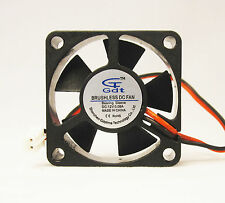 35mm 10mm New Case Fan 12V DC 5.CFM 2pin Sleeve CPU Computer Cooling 3510 282*