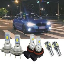For Bmw 1 Series F20 F21 - 6000K LED Xenon HID Low/Fog/Side Headlight Bulbs Set