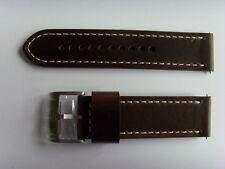 FOSSIL Original Ersatz Lederarmband ME3128 Uhrband strap braun 24 mm