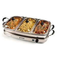 6.4 L Servidor De Buffet Y Bandeja De Calentamiento sensiohome Gourmet Electrodomésticos de cocina servir