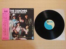 The Osmonds – Love Me For A Reason MM 2067 Japan Insert Obi