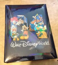 Disney Parks Mickey Mouse Pluto  Goofy Photo Album 50 pages 4x6 300 Pictures NEW