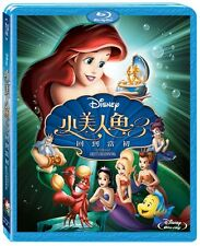 The Little Mermaid III 3 Ariel's Beginning BLU RAY TAIWAN ENGLISH/MANDARIN