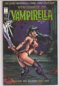 °VENGEANCE OF VAMPIRELLA #11: THE PITZ° 1995 US Harris Comics