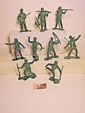 Soldatini marcati Marx Battaglia di Alamo plastica scala 1:32 cm 6