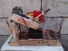 Edco Tile Block Concrete Saw 14 Inch Blade 1.5 hp Works Fine