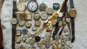Retro/Vintage Mens/Ladies Watch Joblot; AVIA, ROTARY, TIMEX etc. Spares/Repairs