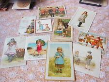 10 Victorian Greeting Cards/Children