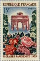 EBS France 1959 Paris Flower Show - Floralies Parisienne YT 1189 MNH**