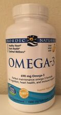 (New) Nordic Omega-3, Cognition, Heart Health, and Immune Support, 120 Soft Gels