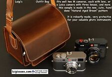 LUIGI's OUTFIT BAG for LEICA M,NIKON,CANON,FUJI,REDUCED PRICE for $/€ CONVERSION