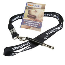 Professional Dog Training Whistle with Lanyard and Recall Training Book Guide