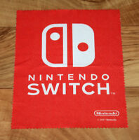 Nintendo Switch rare promo Display Cleaner Cloth