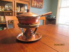 Vintage Empress Ware  Copper & Tin Chafing Dish Set