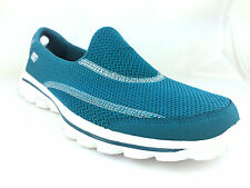 SKECHERS GOwalk 2 Spark Womens Footwear Slip Ons - Turquoise All Sizes UK 8