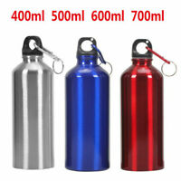 400-700ML Aluminum Alloy Vacuum Water Bottle Drink Flask Outdoor Sport Fitness