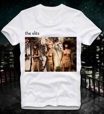 T-SHIRT THE SLITS TYPICAL GIRLS NEW WAVE PUNK VINTAGE RETRO