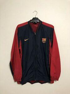 Barcelona FC Medium Training Jacket Coat Football Shirt Track M