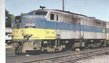 Long Island  Locomotive  #601 Metro Commuter  1974 view   Postcard Train 9224