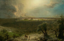 Jerusalem from the Mount of Olives by Frederick Edwin Church Giclee Canvas Print
