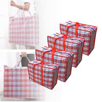 Premium Reusable Laundry Storage Bag Shopping Bags Zipped Strong Large Bag