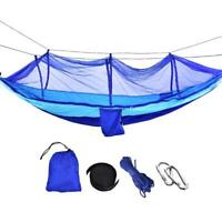 Outdoor Travel Camping Hanging Hammock Bed Sleeping Swing With Mosquito Net Set