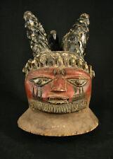 Superb African Gelede Mask, Yoruba, Nigeria