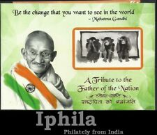 Mahatma Gandhi India 2013 Booklet patriotic Indien  Inde Freedom struggle