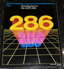 Used 1982 Intel Introduction to the iApx 286 Manual