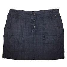 MEXX Blue Denim Straight Skirt Pockets 18