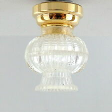 Melody Jane Dolls House 1:12 Lighting LED Battery Lamp Fancy Ceiling Light