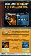 "MILES DAVIS ""Steamin' + The New Miles Davis Quintet"" (CD) 2011 NEUF"