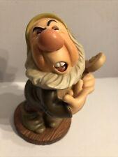 "Walt Disney WDCC Snow White And The Seven Dwarfs Sneezy ""Ah-choo"" w/Box & COA"