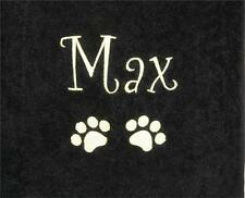 Luxury Egyptian Towel, Personalised any Name for Dog / Cat / Pet  Ideal Gift