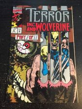 Terror Inc.#9 Awesome Condition 8.0(1993) Wolverine App!!