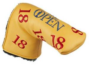 OFFICIAL British Open - Yellow - Scatter 18  PUTTER COVER