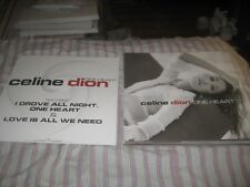 Celine Dion-One Heart-1 Poster-2 Sided-12X12 Inches-Nmint-Rare!