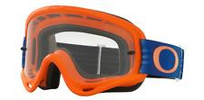 Oakley o-frame MX enduro MTB gafas Shockwave ktm naranja azul clara vidrio Cross