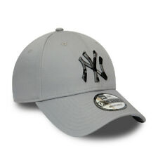 NEW ERA NEW YORK YANKEES BASEBALL CAP.9FORTY MLB CAMO GREY STRAPBACK HAT S20 38