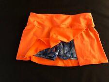 Adidas Womens Size M Tennis Fluro Orange Skirt Skort BNWT BARGAIN  LAST ONE