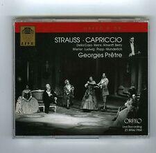 2 CDs STRAUSS CAPRICCIO GEORGES PRETRE DELLA CASA KERNS LUDWIG WUNDERLICH